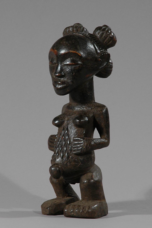statut luba art africain